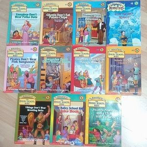 The Adventures of the Bailey School Kids 11 Books
